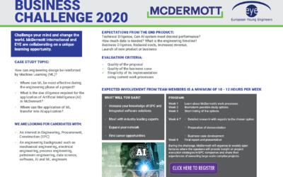 McDermott – EYE Business Challenge