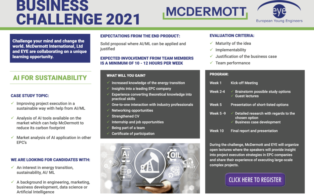 EYE-McDermott Business Challenge 2021