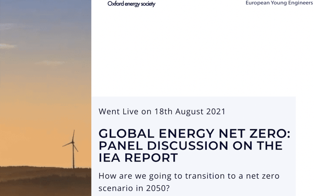Global Energy Net Zero: Panel Discussion on the IEA Report